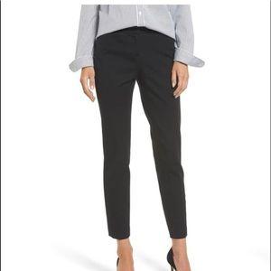 Halogen Taylor Fit Curvy Ankle Pants Dark Gray 0